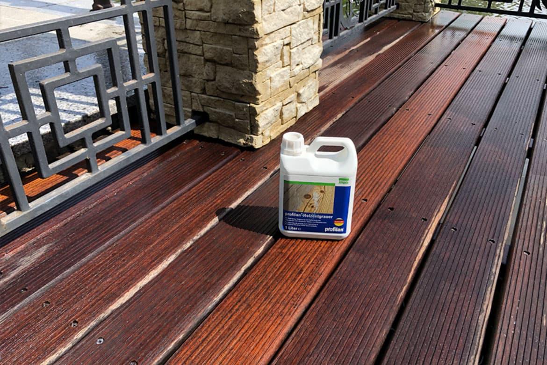 Holzentgrauer відновити колір деревини захист від посіріння